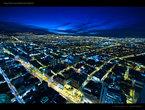 | Ночная Богота с высоты птичьего полёта