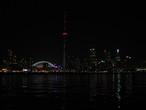 | Ночной Торонто, вид с парома