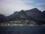   Вид на Кейптаун с моря