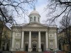 | Лютеранская церковь Св. Екатерины. Санкт-Петербург, Большой проспект, В.О., 8 марта 2008 года