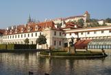 | Прага. Сад Вальдштейнского дворца.