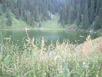 | горное озеро Заилийского Алатау (Тянь-Шань)