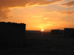 | Sunrise in Saharawi Refugies camp of Dakhla
