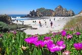 | КАК МАНИТ ПЛЯЖ. В Португалии много чистых пляжей.