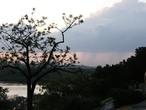 | Дождь над земуном, вид из Калемагдана