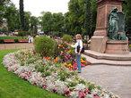 | Хельсинки. В Парке Эспланады