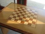 | Стол с шахматной доской. Элиста. Шахматный город.