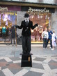 | живые статуи на улицах Копенгагина