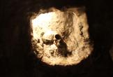 | Полуостров Гибралтар. Пещера Святого Мигеля. Череп доисторической женщины.
