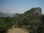 | Крым.Вид на Судакскую бухту.