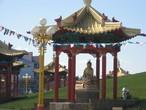 | Элиста. Калмыкия. Ротонда учителя Будды. Храм Гол-Сюме.