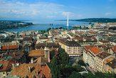 | Панорама Женевы